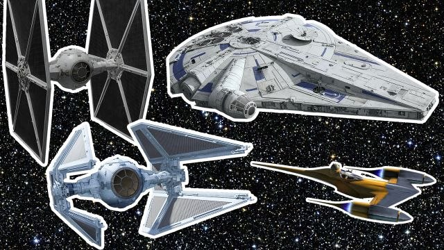 Every Starfighter in Star Wars Explained