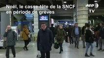 Noël: la SNCF assure pouvoir transporter les voyageurs avec un billet de TGV