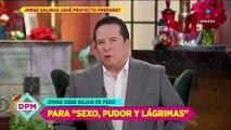 Jorge Salinas baja de peso para secuela de 'Sexo, pudor y lágrimas'