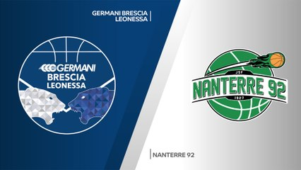 7Days EuroCup Highlights Regular Season, Round 10: Brescia 85-78 Nanterre