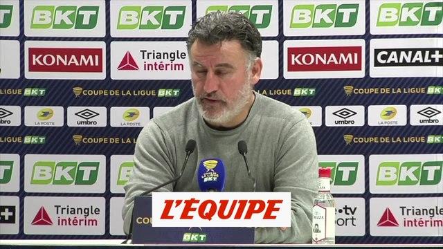 Galtier « Nous avons été sérieux » - Foot - C. Ligue - Lille