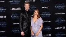 "Joonas Suotamo and Milla Pohjasvaara ""Star Wars: The Rise of Skywalker"" World Premiere Blue Carpet"