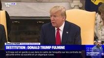 Destitution: Donald Trump s'en prend aux démocrates à quelques heures d'un vote historique