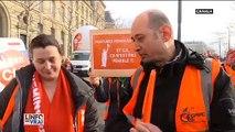 Le résumé de la manifestation à Paris du 17 décembre contre la réforme des retraites