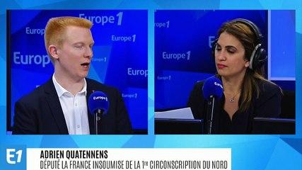 Adrien Quatennens - Europe 1 mercredi 18 décembre 2019