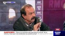 """Philippe Martinez sur les coupures d'électricité: """"Je dis au gouvernement 'arrêter les provocations' des agents au service du public"""""""