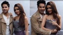 Varun Dhawan and Shraddha Kapoor promote Street Dancer 3D