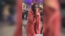 Cristina Pedroche, en ropa interior en mitad de la Puerta de Sol