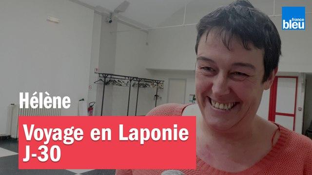 """""""J'ai crié, j'ai pleuré...""""  J-30 pour le départ en Laponie d'Hélène"""