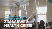 Zimbabwe health crisis leaves patients waiting for days to be seen