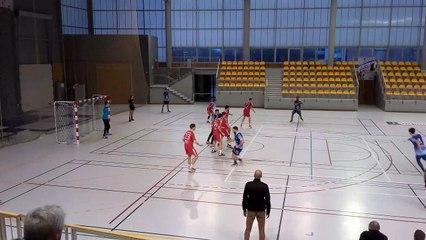 Handball   2019/2020 : But de Cernay puis dans la foulée, interception et but signé Belaouni face à Nancy