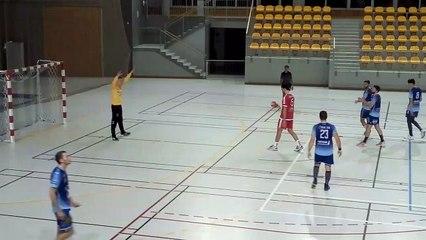 Handball   N2M 2019/2020 : Le but de la victoire pour Nancy qui s'impose à Cernay (25-24)