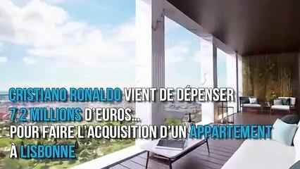 Visite de l'appartement de Cristiano Ronaldo