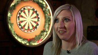 Fallon Sherrock: Women need more chances in darts
