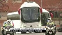 Security on high alert in Barcelona as El Clasico nears