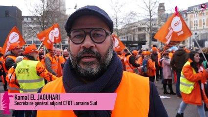 """Manifestation du 17 décembre à Nancy : la CFDT ne veut pas de """"l'âge pivot"""""""
