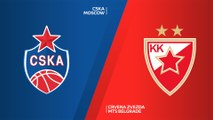 CSKA Moscow - Crvena Zvezda mts Belgrade Highlights | Turkish Airlines EuroLeague, RS Round 14