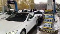 Electric Car Protest in Croatia