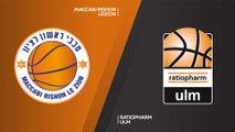 Maccabi Rishon Lezion  - ratiopharm Ulm Highlights | 7DAYS EuroCup, RS Round 10