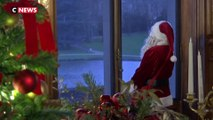 Le père Noël au château de Chantilly