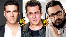 Akshay Kumar REACTS To His BIG CLASH With Salman Khan And Aamir Khan