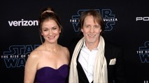 "Catherine Taber and James Arnold Taylor ""Star Wars: The Rise of Skywalker"" World Premiere Blue Carpet"