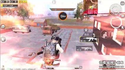 Pubg Mobile:门后有人?用屁股开门M249和他刚单人四排21杀【小抠脚】刺激战场和平精英