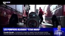 Quand les pompiers rejouent Star Wars dans des clips