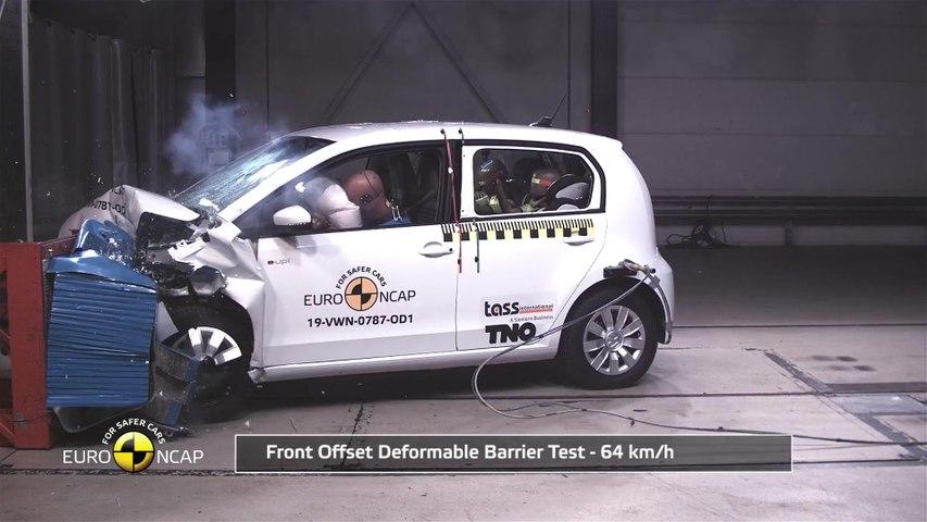 Volkswagen up! - Crash & Safety Tests 2019