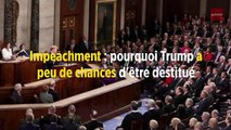 Impeachment : pourquoi Trump a peu de chances d'être destitué