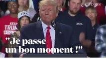 """Trump réagit à l'""""impeachment"""" : """"Je passe un bon moment"""""""