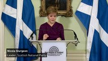 Nicola Sturgeon calls for transfer of powers for 'IndyRef2'