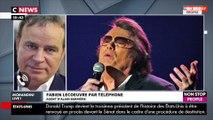 Morandini Live - Alain Barrière : Fabien Lecoeuvre réagit à sa mort et fait une révélation (Vidéo)