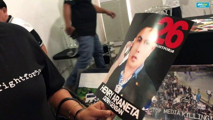 Wife of slain journalist fears for safety despite favorable Ampatuan massacre verdict