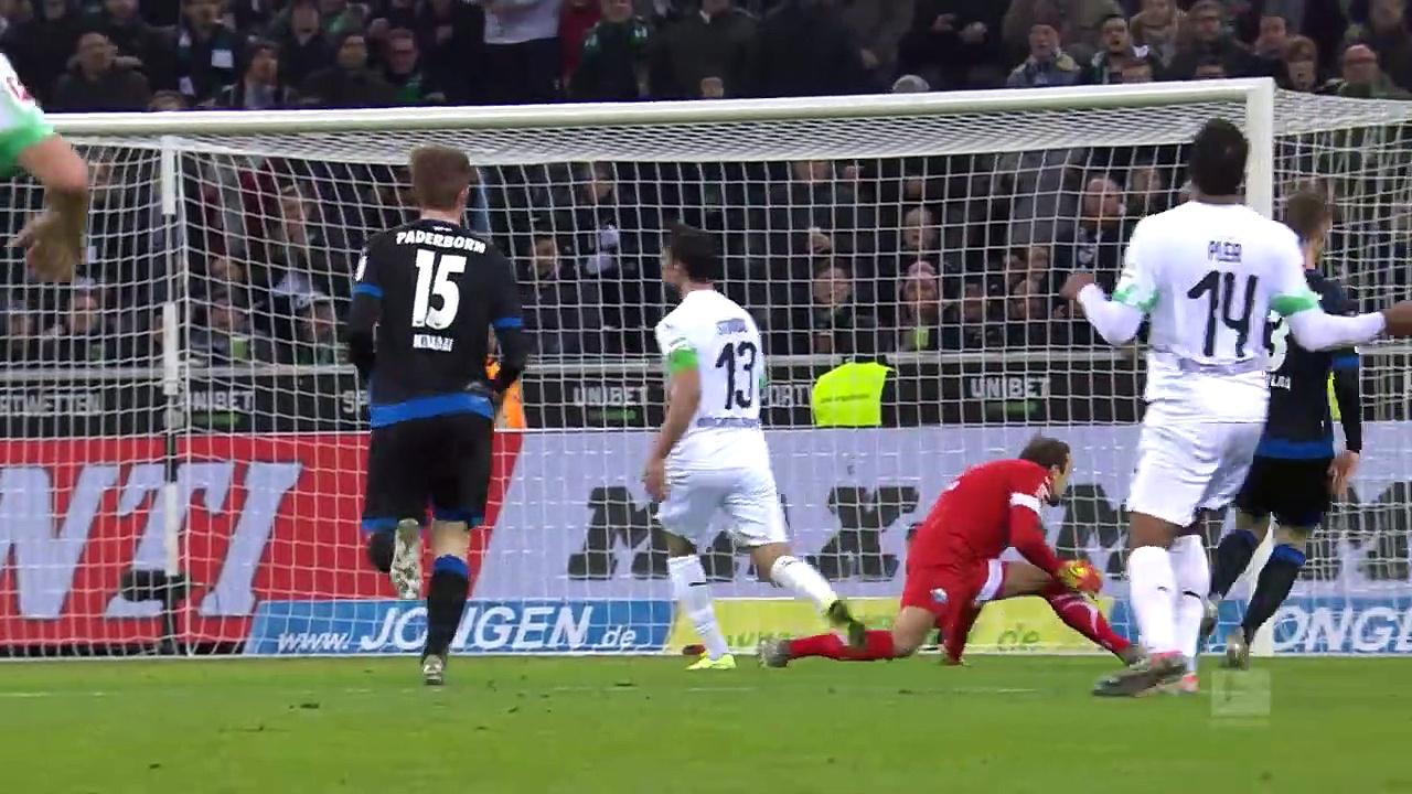 B. Mönchengladbach - Paderborn (2-0) - Maç Özeti - Bundesliga 2019/20