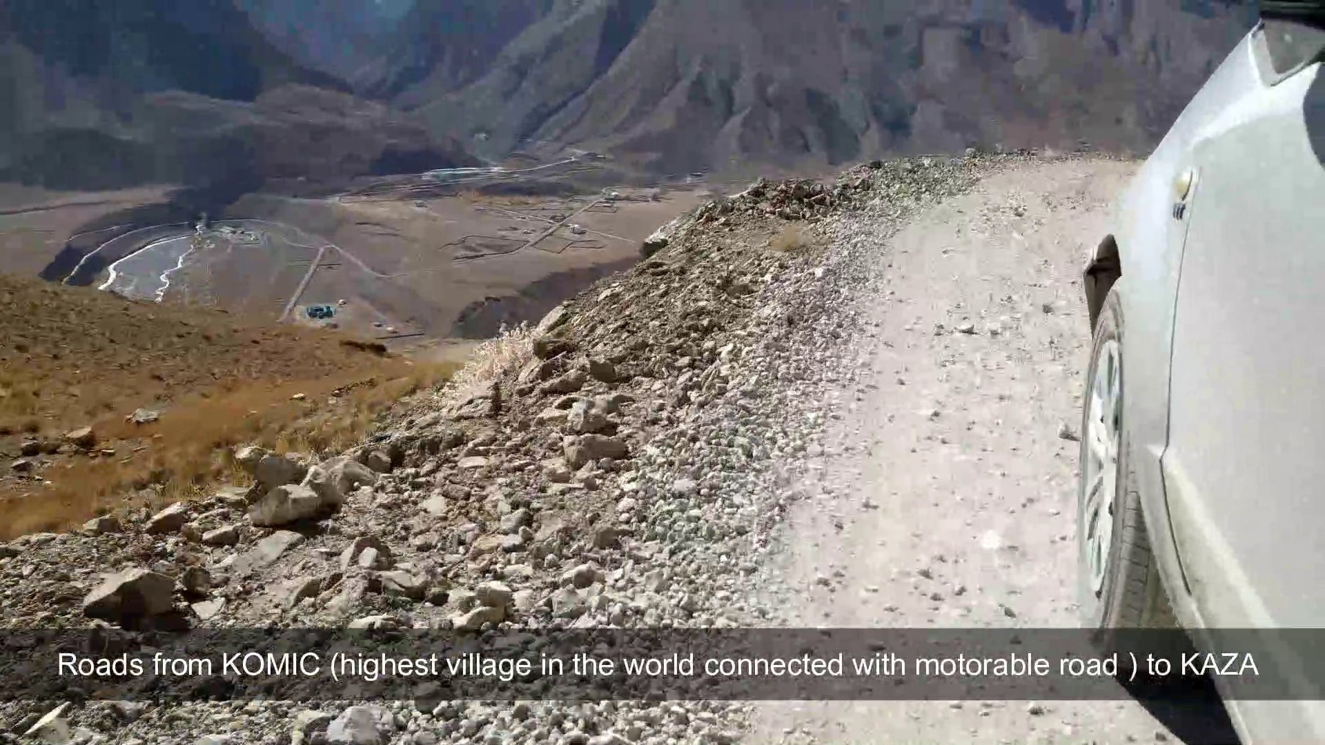 Spiti Valley EP 1   Roads Condition in Spiti & Kinnaur   Blasting Zone Time