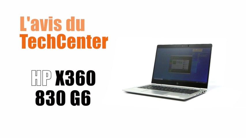 En direct du TechCenter CELERIS, le nouveau portable HP X360 830 G6