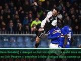 """18e j. - Favre: """"Ronaldo reste longtemps après chaque entraînement pour être meilleur"""""""