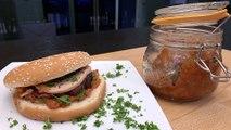 Recette : Burger au magret de canard et au foie gras