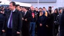Hayatını kaybeden polis memuru için cenaze töreni düzenlendi