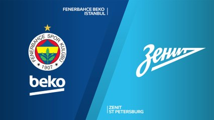 Fenerbahce Beko Istanbul - Zenit St Petersburg Highlights | EuroLeague, RS Round 15