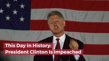 The Time President Clinton Was Impeached
