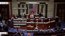 House Passes Trump's USMCA Trade Deal