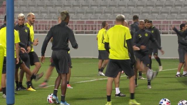 CdM Clubs - L'entraînement de Flamengo avant la finale