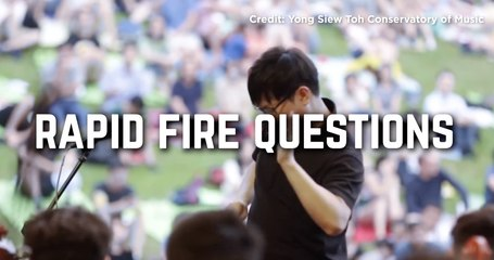 Rapid Fire Questions with Kahchun Wong