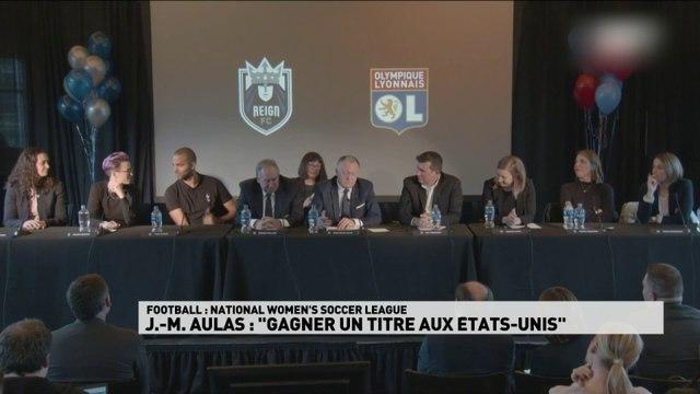 """JM Aulas """"Gagner un titre aux USA"""""""
