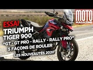TRIUMPH TIGER 900 - 5 façons de rouler Moto Magazine