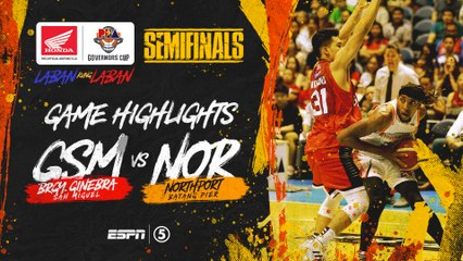 Highlights: G4: Ginebra vs NorthPort | PBA Governors' Cup 2019 Semifinals