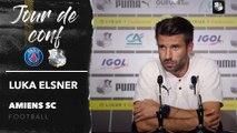 Conférence de presse d'avant Match,  PSG - Amiens SC, Luka Elsner