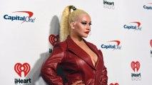 Christina Aguilera en dévoile un peu trop le soir de son anniversaire